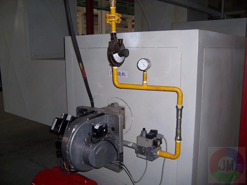 燃燒機加熱系統